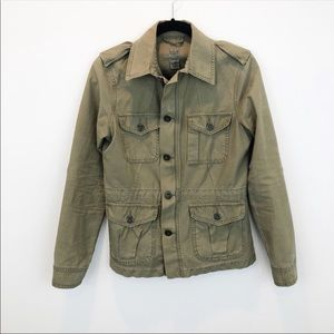 Lucky Brand Army Green Jacket